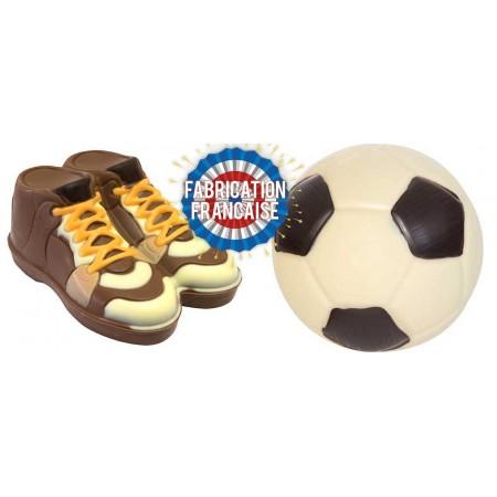 Lot Ballon de foot + Paire...