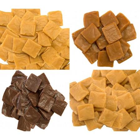 Lot de 4 Palets Caramel