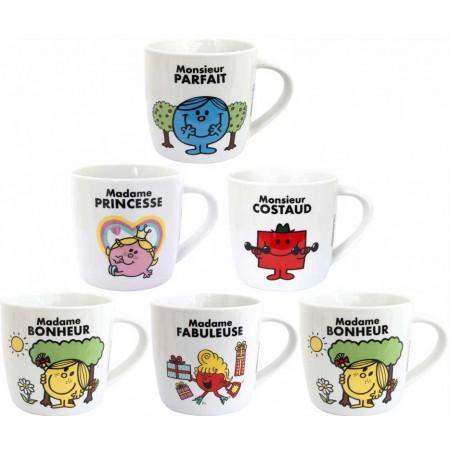 "Lot de 5 Mug ""Monsieur..."