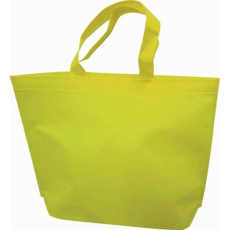 Sac shopping intissé jaune