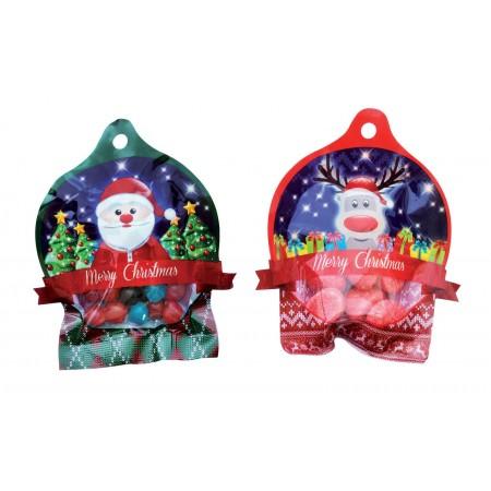4 Boules de Noël Haribo...