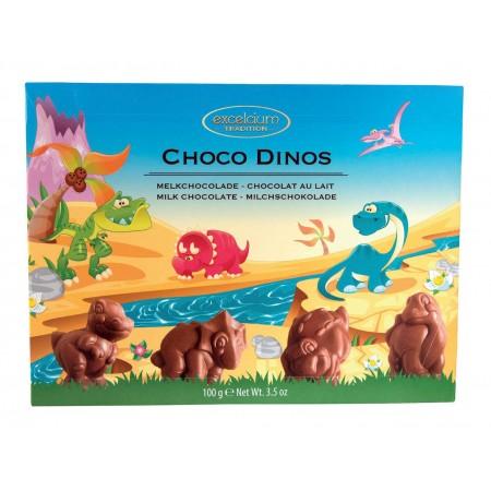 Etui Dinosaures chocolat lait